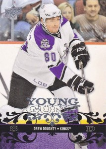 2008-09 Upper deck Young Guns Drew Doughty RC
