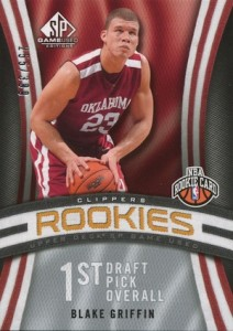 Top 10 Blake Griffin Rookie Cards 2