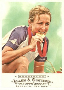2009 Topps Allen and Ginter Kristin Armstrong