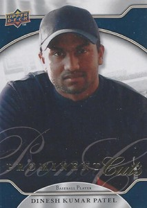 2009 Upper Deck Prominent Cuts Dinesh Patel