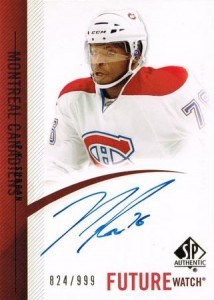P.K. Subban Cards, Rookie Cards and Autographed Memorabilia Guide 23