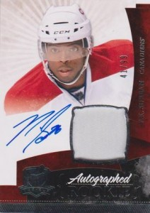2010-11 The Cup PK Subban 1