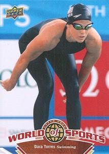 2010 Upper Deck World of Sports Dara Torres