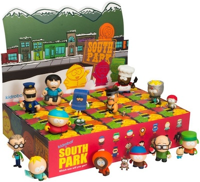 2011 Kidrobot South Park Display Box