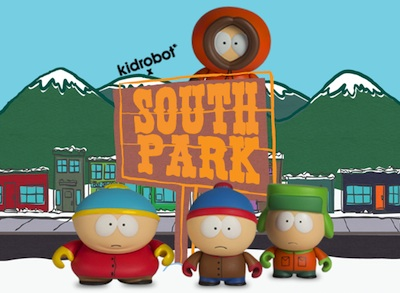 2011 Kidrobot South Park Main
