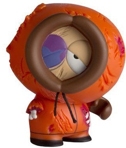 2011 Kidrobot South Park Mini Vinyl Figures Dead Kenny