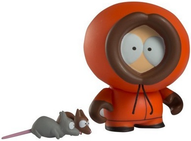 2011 Kidrobot South Park Vinyl Figures Kenny McCormick