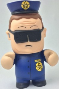 2011 Kidrobot South Park Vinyl Figures Officer Barbrady