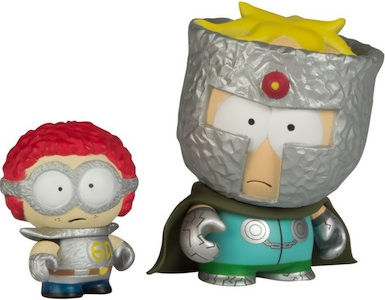 2011 Kidrobot South Park Mini Vinyl Figures Professor Chaos