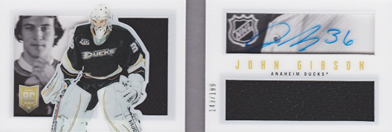 2013-14 Panini Playbook John Gibson RC