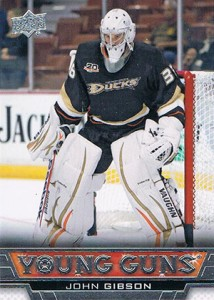 John Gibson Rookie Card Guide 3