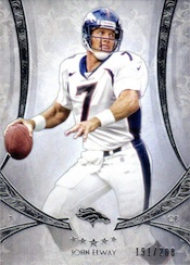 2013 Topps Five Star Football Base John Elway