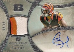 Giovani Bernard Rookie Card Checklist and Guide 6