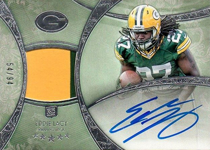 Eddie Lacy Rookie Card Checklist and Visual Guide 51