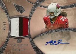 2013 Topps Five Star Rookie Autographed Patch 139 Andre Ellington