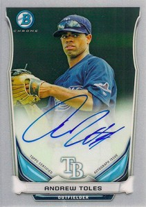 See All the 2014 Bowman Baseball Chrome Prospect Autographs 52