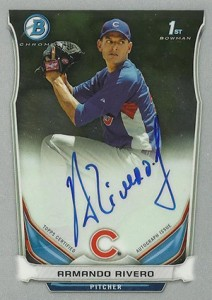 See All the 2014 Bowman Baseball Chrome Prospect Autographs 49
