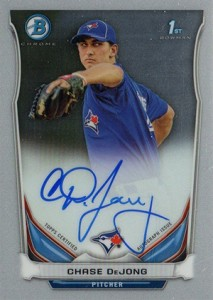 See All the 2014 Bowman Baseball Chrome Prospect Autographs 35