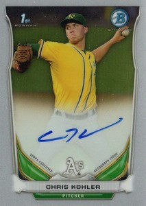 See All the 2014 Bowman Baseball Chrome Prospect Autographs 16