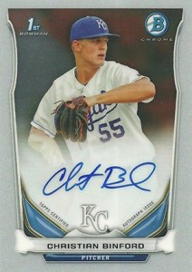 See All the 2014 Bowman Baseball Chrome Prospect Autographs 5