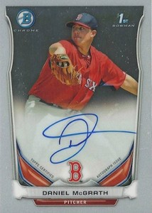 See All the 2014 Bowman Baseball Chrome Prospect Autographs 44