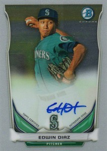 See All the 2014 Bowman Baseball Chrome Prospect Autographs 9