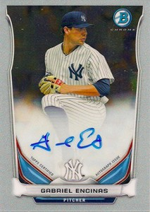 See All the 2014 Bowman Baseball Chrome Prospect Autographs 36