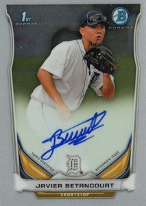See All the 2014 Bowman Baseball Chrome Prospect Autographs 4