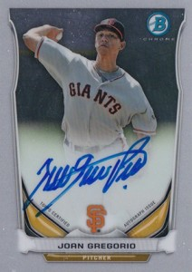 See All the 2014 Bowman Baseball Chrome Prospect Autographs 12