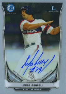 Jose Abreu Rookie Card and Prospect Card Guide 43