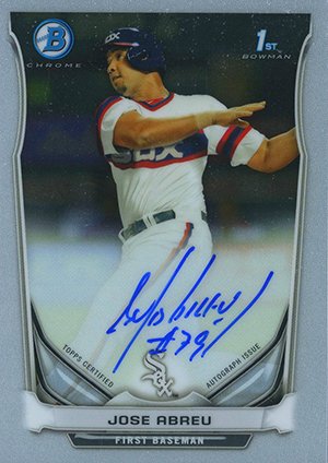 Top Jose Abreu Rookie Card and Prospect Cards 25
