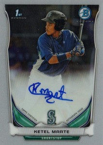 See All the 2014 Bowman Baseball Chrome Prospect Autographs 43