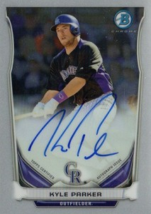 See All the 2014 Bowman Baseball Chrome Prospect Autographs 21