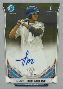 See All the 2014 Bowman Baseball Chrome Prospect Autographs 46