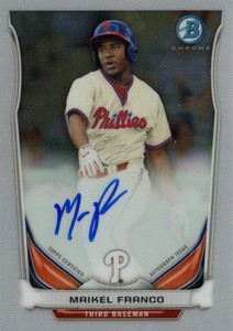 See All the 2014 Bowman Baseball Chrome Prospect Autographs 11