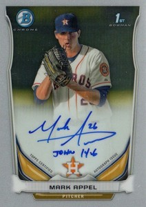 See All the 2014 Bowman Baseball Chrome Prospect Autographs 29