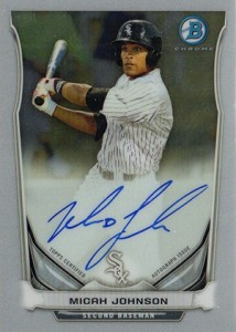 See All the 2014 Bowman Baseball Chrome Prospect Autographs 15