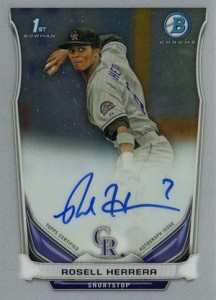 See All the 2014 Bowman Baseball Chrome Prospect Autographs 13