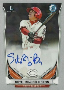 See All the 2014 Bowman Baseball Chrome Prospect Autographs 45