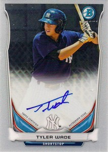 See All the 2014 Bowman Baseball Chrome Prospect Autographs 54