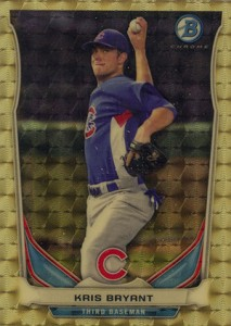 2014 Bowman Mini Superfractor Kris Bryant