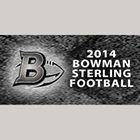 2014 Bowman Sterling Football Cards