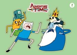 2014 Cryptozoic Adventure Time PlayPaks Sticker