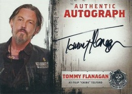 2014 Cryptozoic Sons of Anarchy Seasons 1-3 Autographs A25