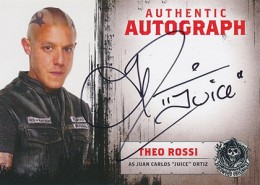 2014 Cryptozoic Sons of Anarchy Seasons 1-3 Autographs A8