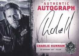 2014 Cryptozoic Sons of Anarchy Seasons 1-3 Autographs Charlie Hunnam