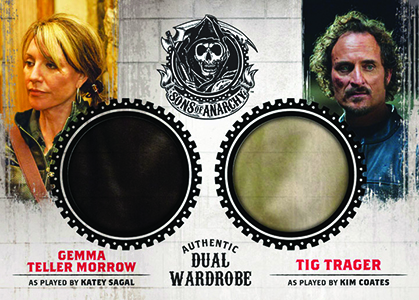2014 Cryptozoic Sons of Anarchy Seasons 1-3 Trading Cards 27