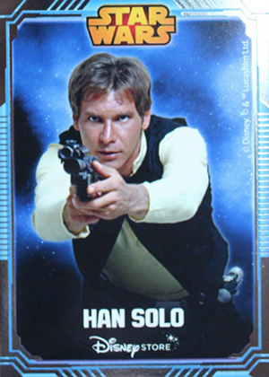 2014 Disney Store Star Wars UK Han Solo