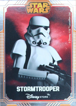 2014 Disney Store Star Wars UK Stormtrooper