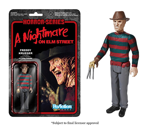 2014 Funko Horror Series ReAction Figures Freddy Krueger